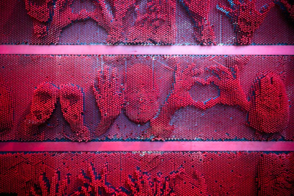 Mim museo on twitter hay tantas figuras que se pueden - Clavos para pared ...