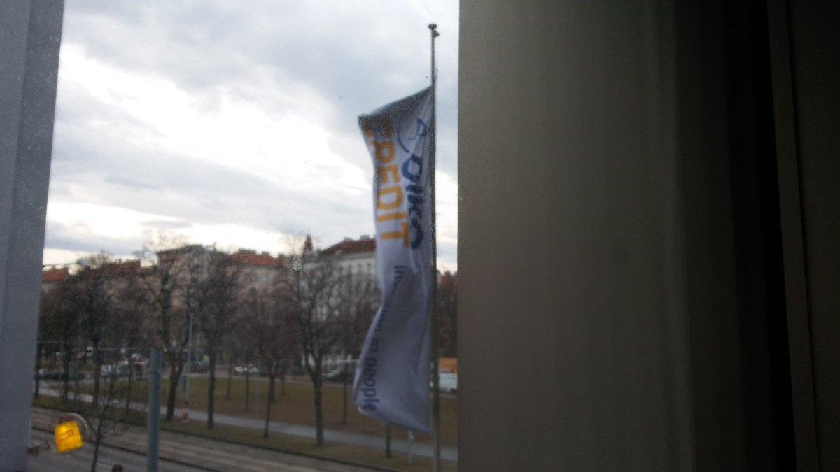 Ya estamos en el #wintermeeting @Oikocredit #viena mucho que compartir y aprender <br>http://pic.twitter.com/HcMaP9quVL