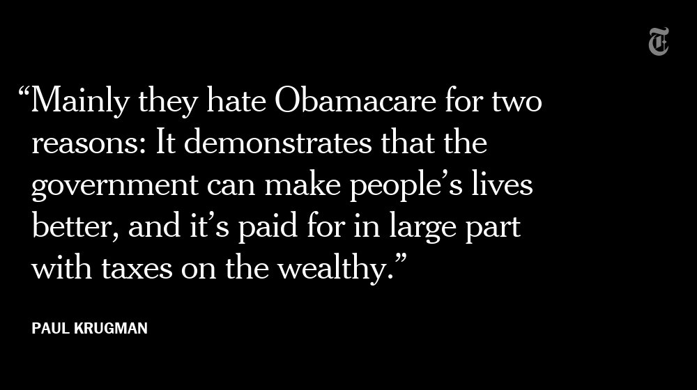Why do Republicans hate Obamacare so much? https://t.co/jfKUaRaIa9