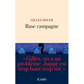 Gilles Boyer présente son livre « Rase campagne » #BibliothèqueMedicis #VendrediLecture
