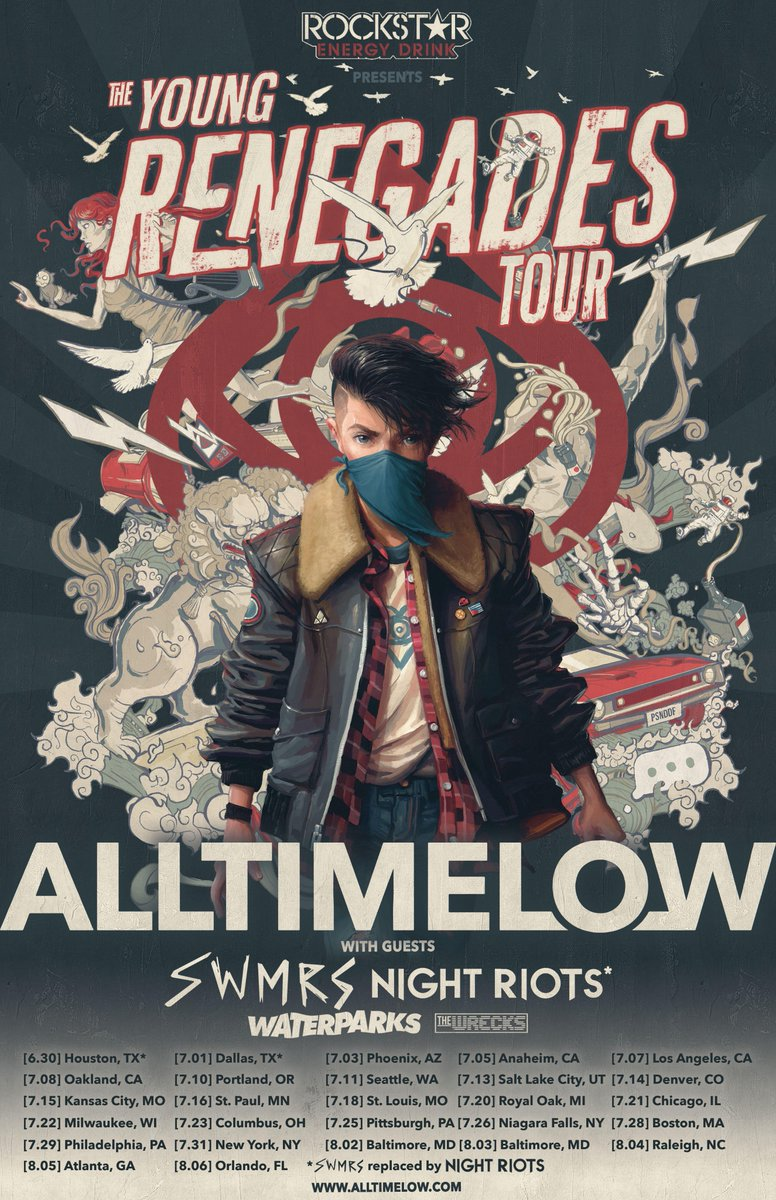 All Time Favorites Drugstore Dupes For High End Makeup: All Time Low Announce Headlining Tour