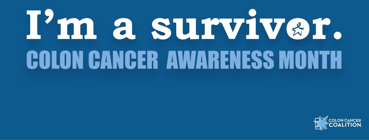 Colon Cancer Coalition On Twitter Download Your Own Colorectalcancer Awareness Month Facebook Header For March On Our Facebook Page Coloncancer Survivor Https T Co Iji3xmhidl
