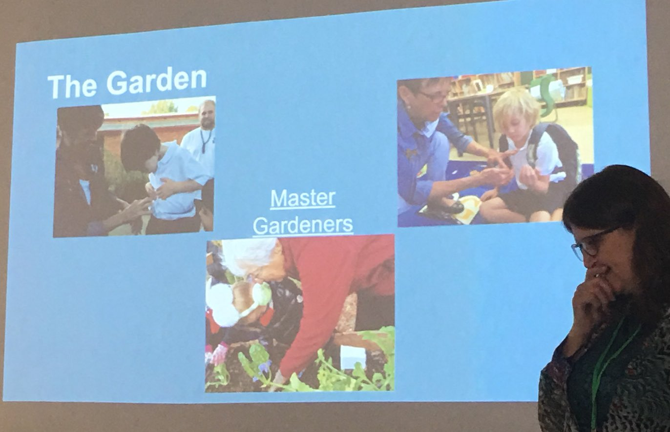 LOVE the use of gardening with authentic learning. Excites me about the @AllSaintsTyler Learning Garden  #llichat https://t.co/AZo4uZzvJu