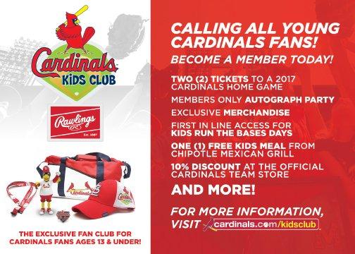 Cardinals Kids Club : Latest News, Breaking News Headlines | Scoopnest