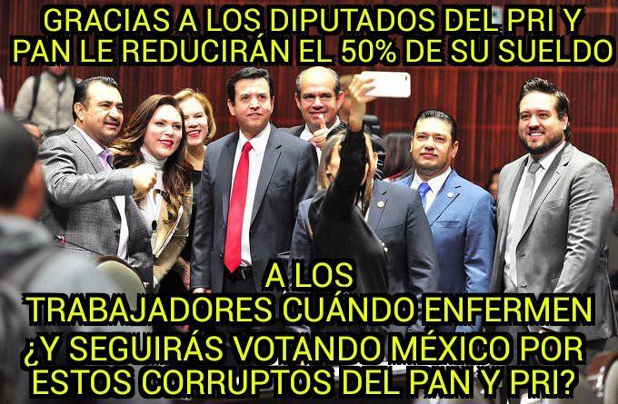 Controlen a Vicente Fox y cárcel a diputados del PRI-PAN que bajaron s...