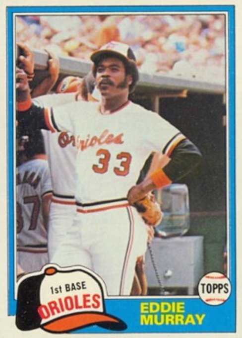 Happy Birthday to one of my absolute favorite players when I was a kid. The great Eddie Murray.