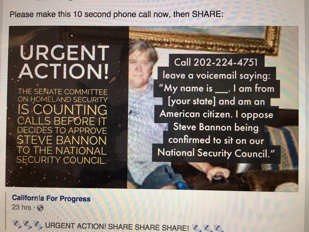 Please make this phone call now, and share: https://t.co/Boxu0nX62o
