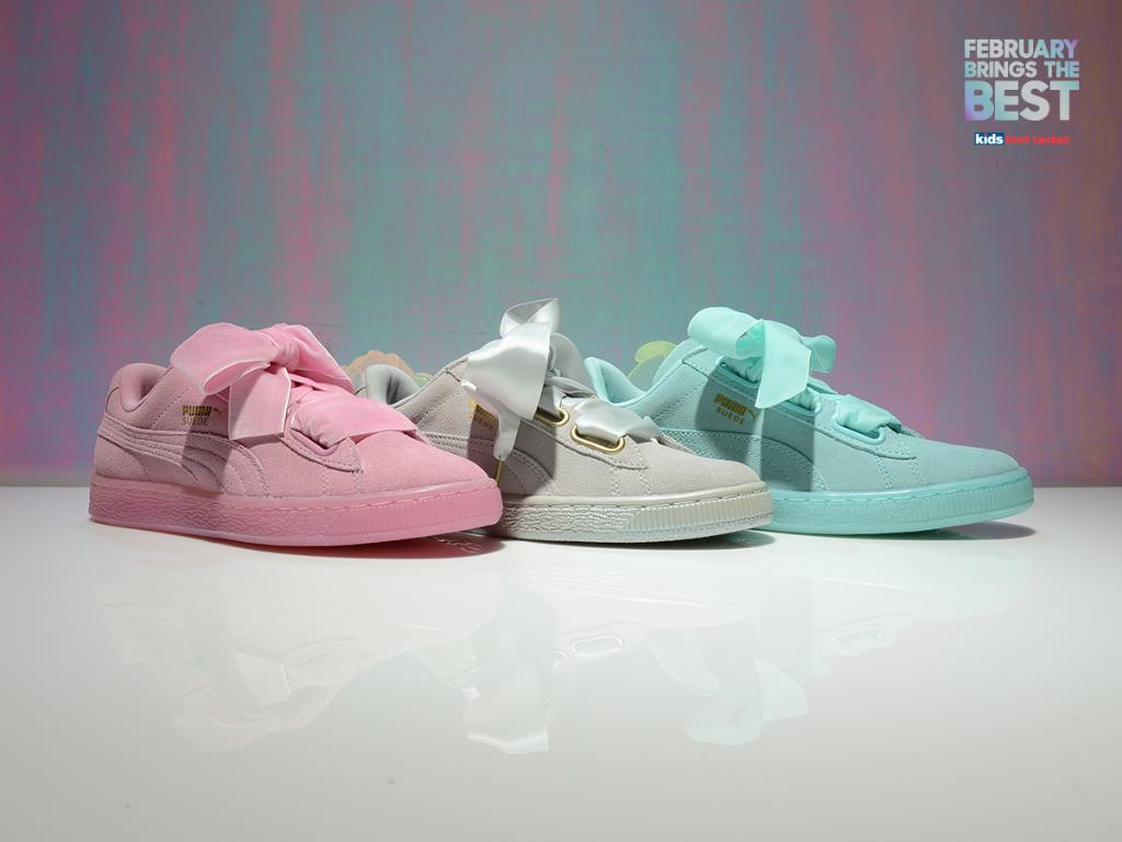 foot locker puma suede
