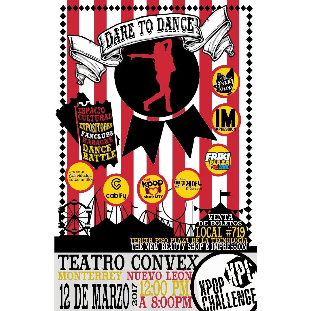 Compra tus boletos en #FrikiPlaza  MTY local 719 en The New #Beauty Shop e Impression. #kpop #dancecover #Monterrey #bailar #kbeauty<br>http://pic.twitter.com/LlAmz172vX