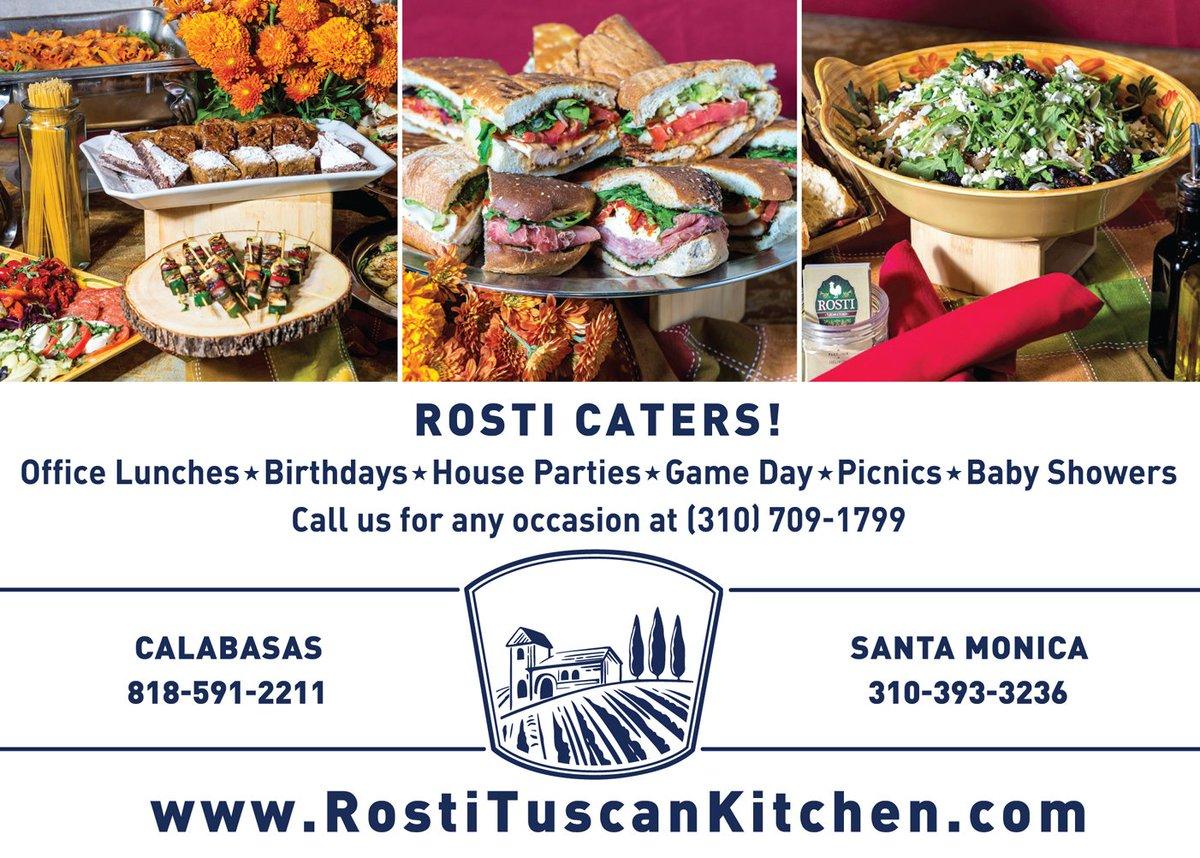 Rosti Tuscan Kitchen (@RostiLA)   Twitter