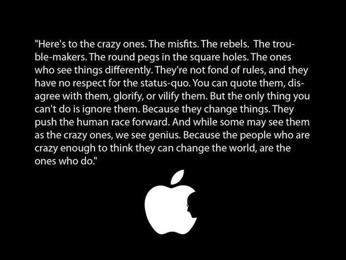 Happy birthday Steve Jobs.