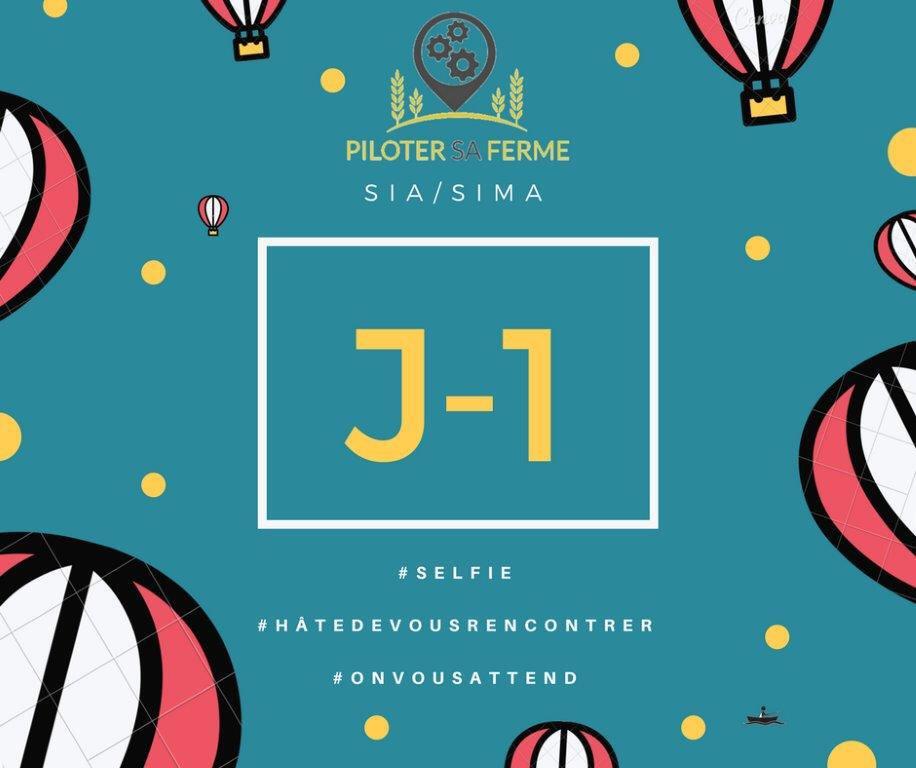 J-1 @pilotersaferme membre de @FermeDigitale Le programme sera annoncé sur leur page #Facebook chk Jour  https:// goo.gl/LCCFuH  &nbsp;   #SIA2017<br>http://pic.twitter.com/SuxCvsmhtd