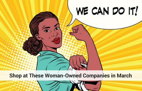 Celebrate #InternationalWomensDay on 3/8, by shopping at these #womanowned companies: https://t.co/th0zupolYQ https://t.co/ZsTLNy2fO2