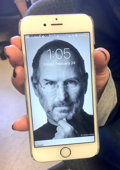 Happy Birthday, Steve Jobs from the crew!
