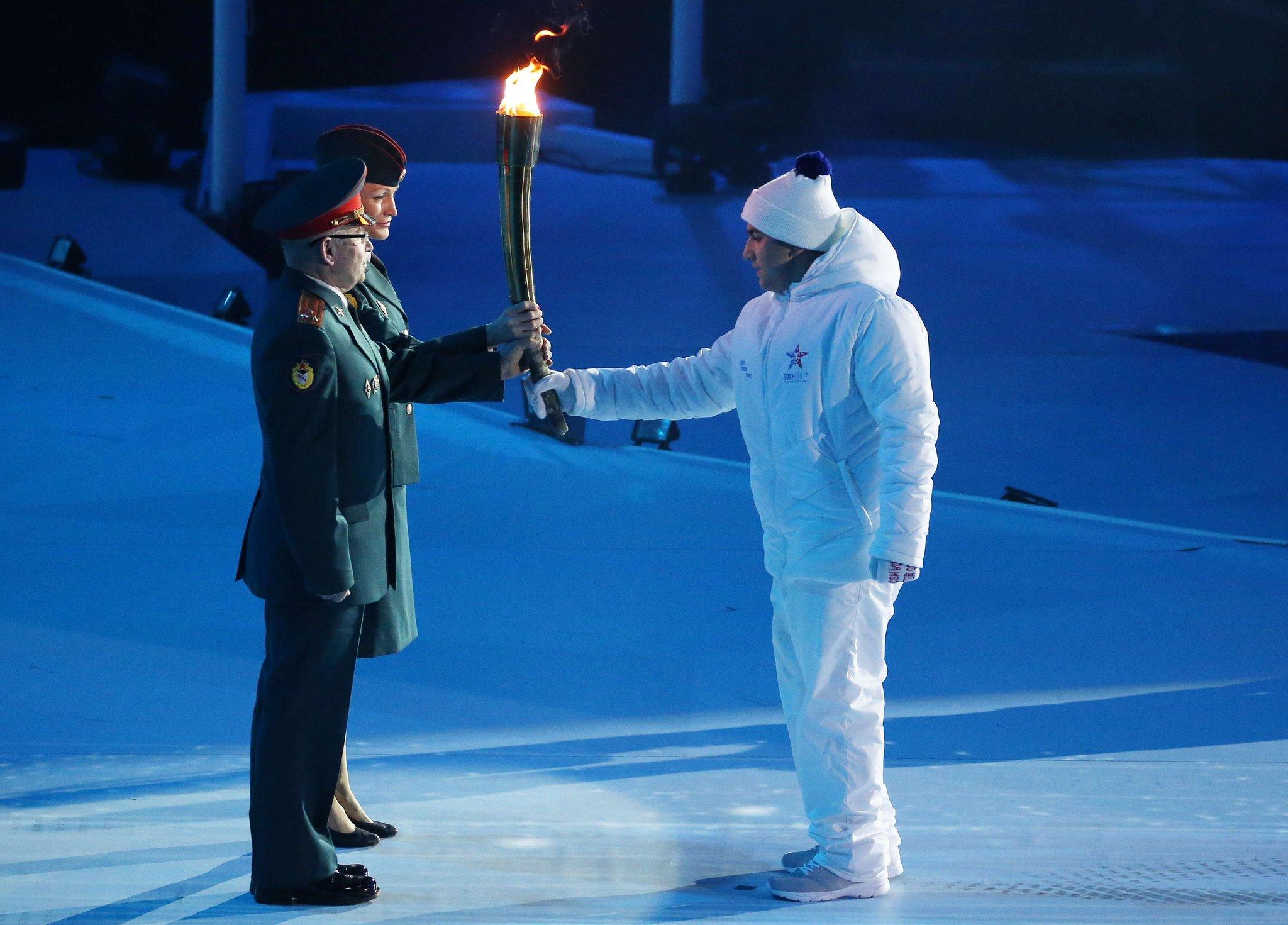 Открытие олимпийских военных игр ростов фото