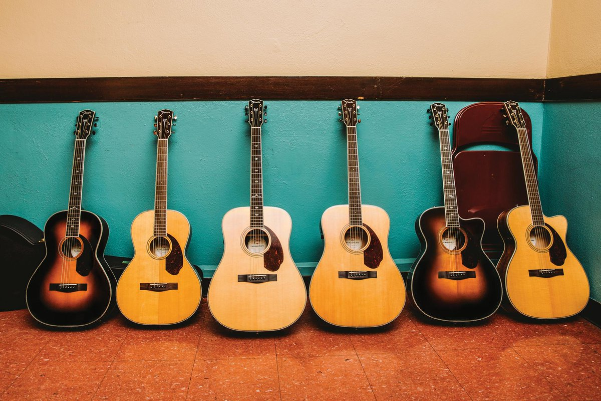 Which #FenderParamountSeries acoustic complements your style of playin...