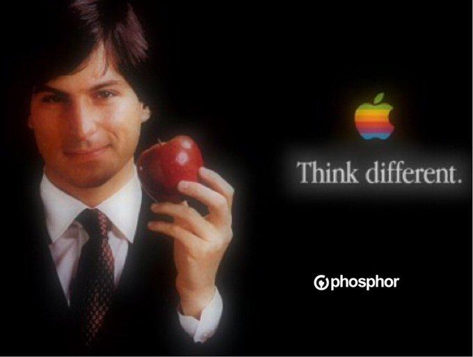 Happy birthday Steve Jobs.    Let\s build something amazing together