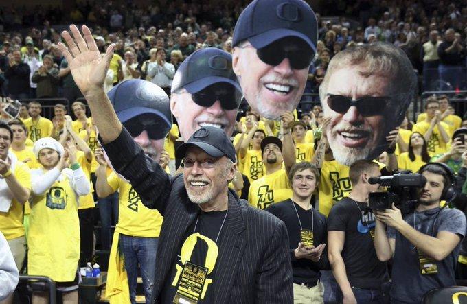 Happy birthday to Oregon graduate, icon, and Ex-Nike CEO, Phil Knight.
