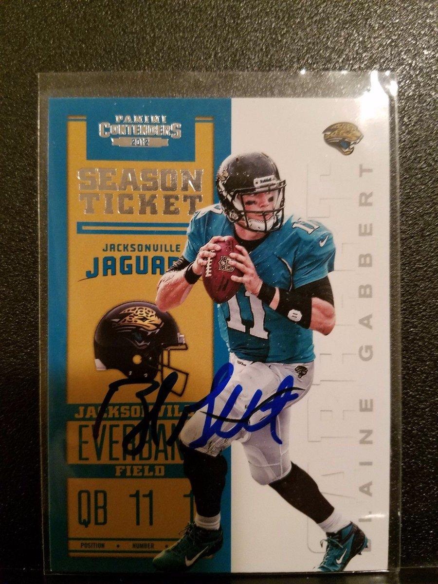 2012 contenders Blaine Gabbert Autograph Jacksonville #Jaguars  http:// dlvr.it/NT20SK  &nbsp;   #Football<br>http://pic.twitter.com/r8YxFzK40n
