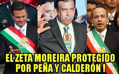 #PeñaMienteaMexico y protege como calderon a Moreira¿Y cuándo Investig...