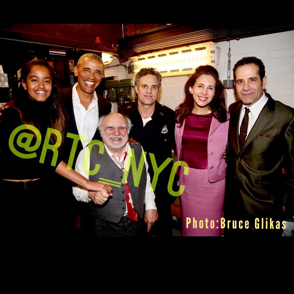 We are so honored to have had President @BarackObama in our theater this evening for #ThePriceBway!