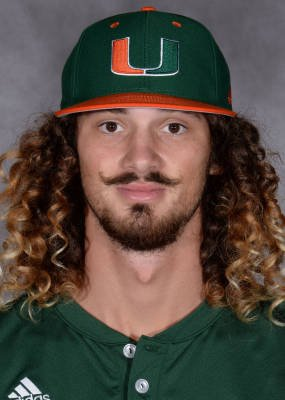 Miami is playing this dude Hunter Tackett in left and there's no way h...