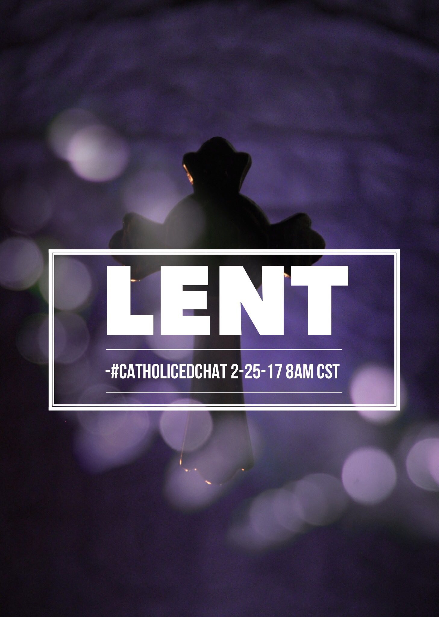 Sharing #Lent ideas for tomorrow's #CatholicEdChat https://t.co/EPdZFCMpKU