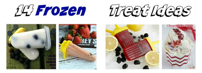 Frozen Treats #recipes