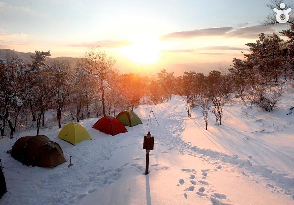완전 늦겨울 여행으로 백팩킹 어때?! 주말에는 밖으로 좀 나가보자고. #고창 #방장산 #백팩킹 #초봄아기다려