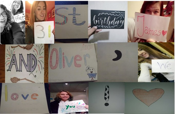Happy Birthday to  I put this together with work from other fans! Have a great day guys