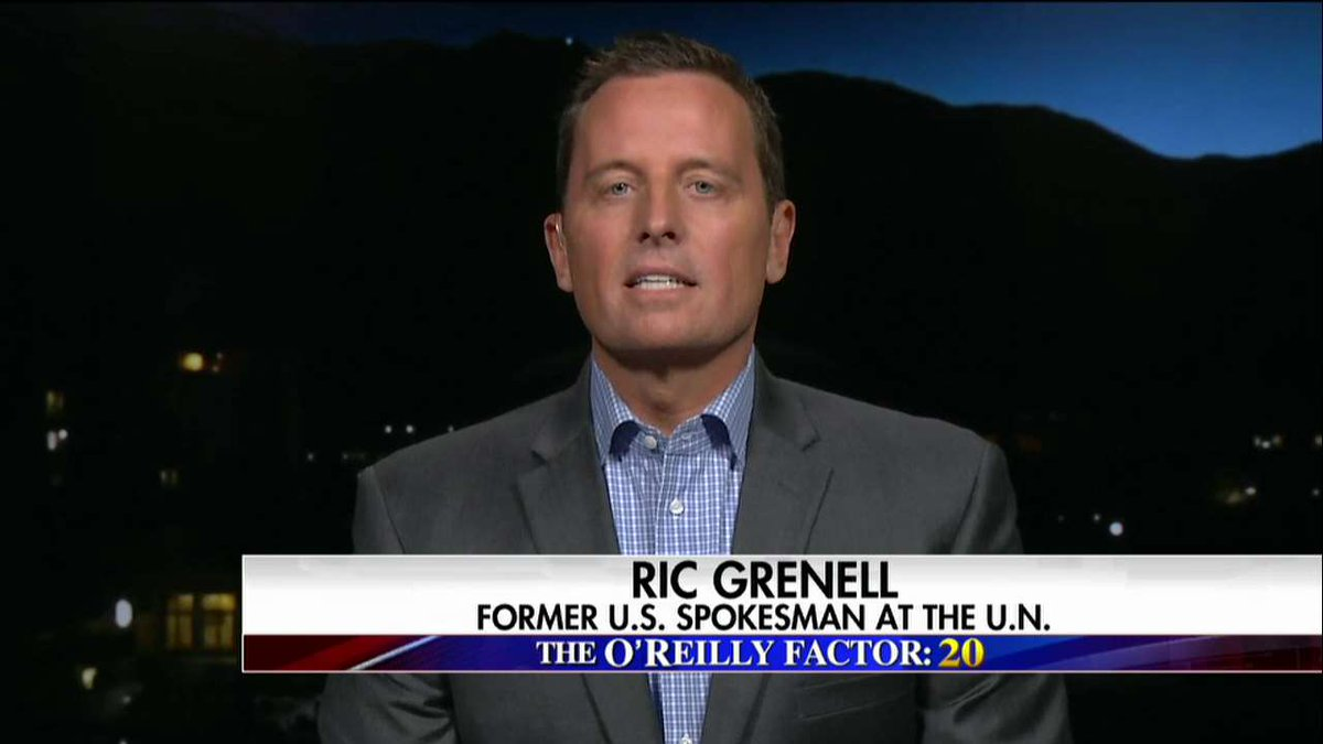 ".@RichardGrenell: ""One of the problems that we've had is that we don't have very good, timely intelligence."" #oreillyfactor <br>http://pic.twitter.com/gbze4lYqoE"