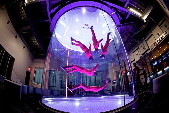 New indoor skydiving center opens in Davie bit ly/2kVmMwa