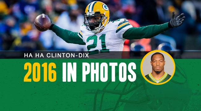 .@haha_cd6 earned his first Pro Bowl &amp; All-Pro honors after leading the #Packers with five INTs.  2016 in photos :  http:// pckrs.com/8jpv  &nbsp;  <br>http://pic.twitter.com/IG3et8TY85