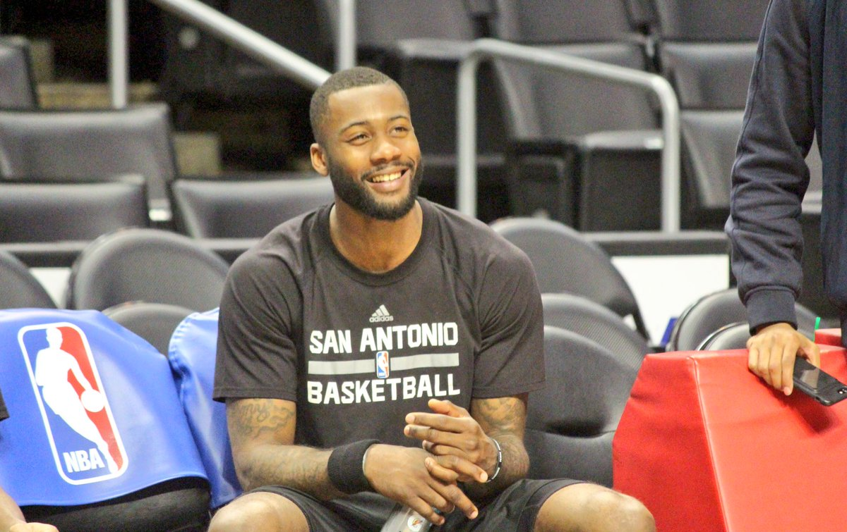 Happy to be back at it. #GoSpursGo https://t.co/3OD7ZSFjxK