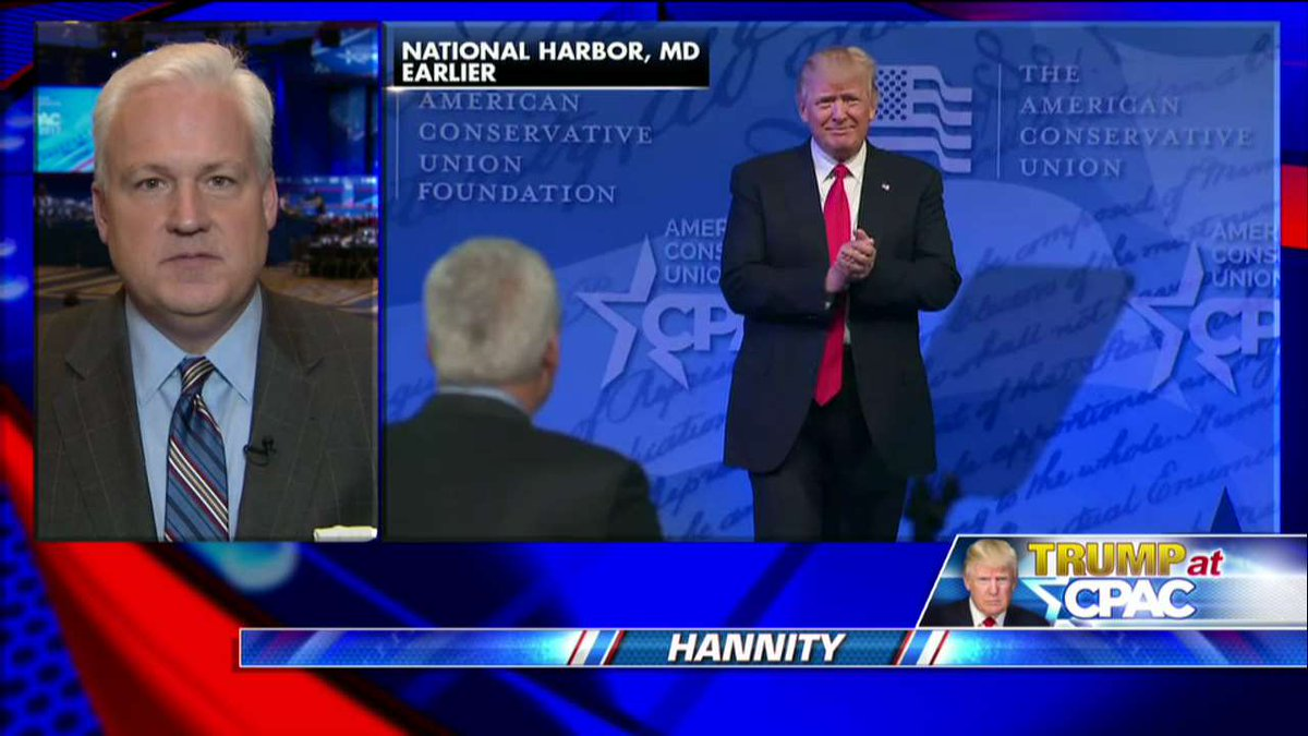.@mschlapp on conservatives: &quot;They just want a leader who will fight and [@POTUS] is showing them how to fight.&quot; #Hannity <br>http://pic.twitter.com/8aO9k5QRUy