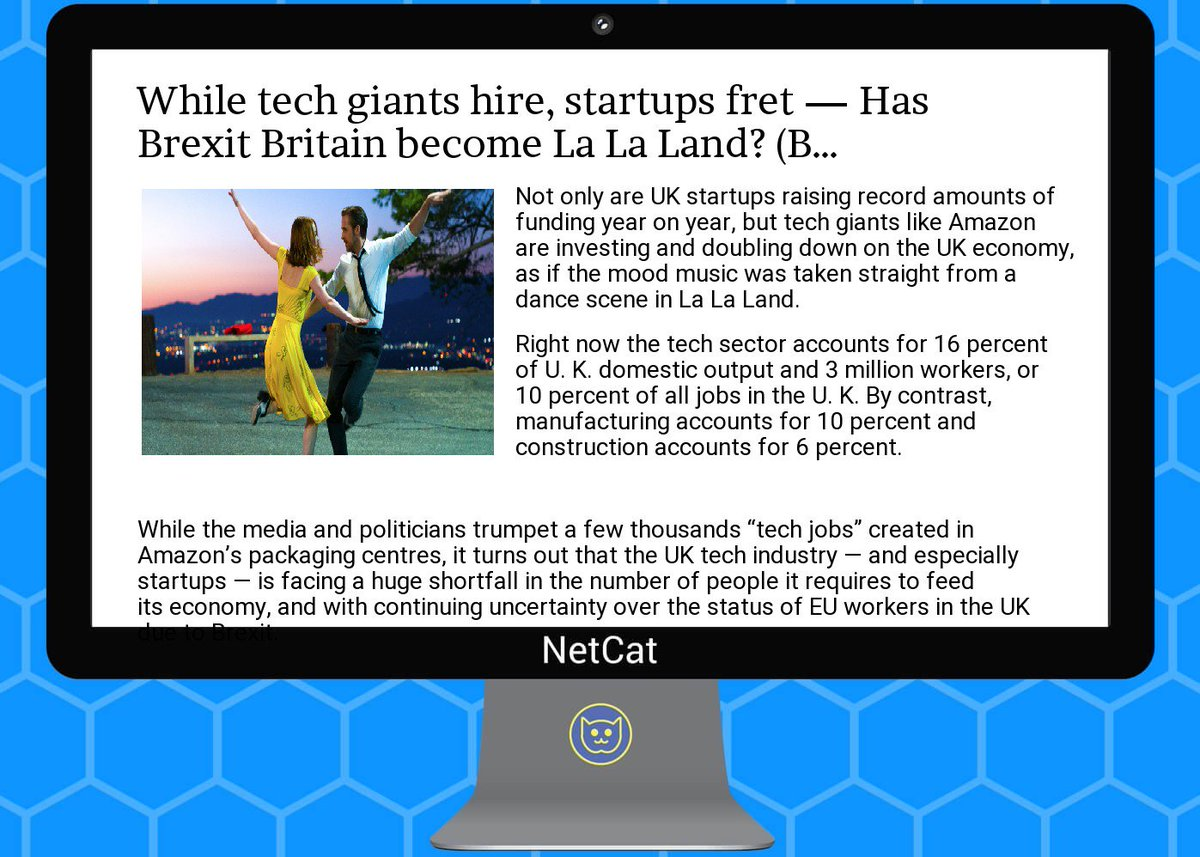 #startup #summary: while  #tech  #giants  #hire,  #startups fret — has  #brexit  #britain become la la  #land?<br>http://pic.twitter.com/cyx0qjXcFG