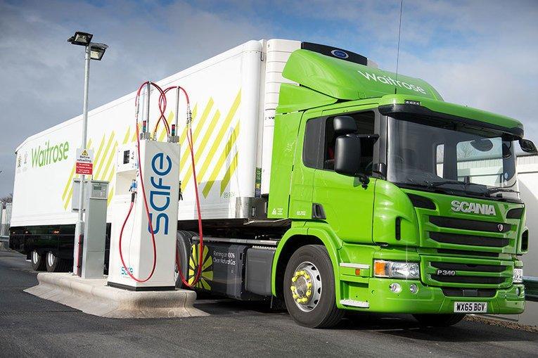 Ces camions roulent grâce à des #déchets alimentaires | #GES #innovation via @zehub @Wedemain  http:// sco.lt/75XXPN  &nbsp;  <br>http://pic.twitter.com/dGmjH2bQ1o