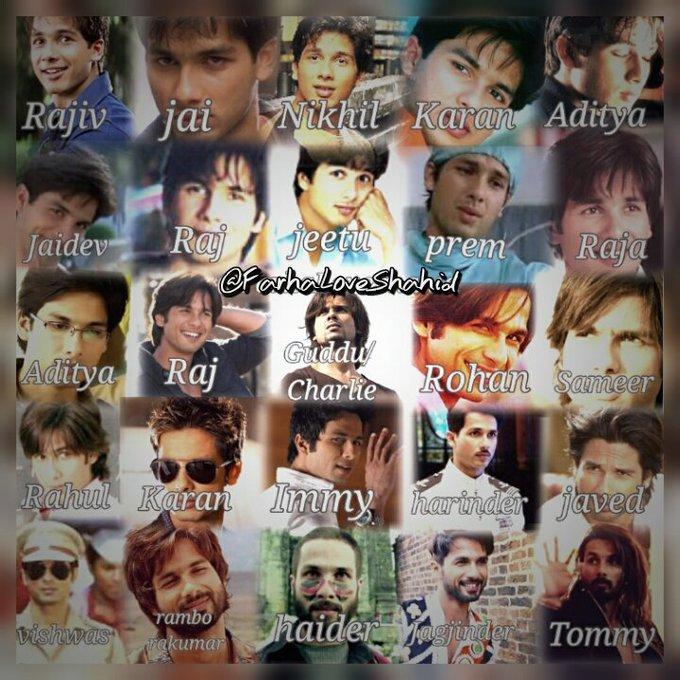 Coz his all movies are close to our hearts    Happy Birthday Shahid Kapoor