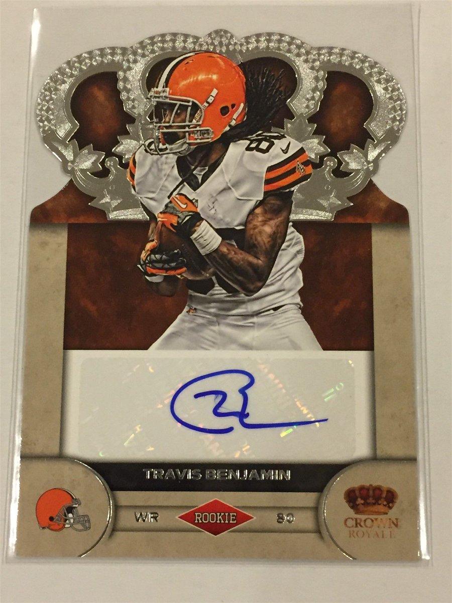 #NFL 2012 Crown Royale TRAVIS BENJAMIN #Browns chargers AUTO Autograph RC 210/245  http:// dlvr.it/NT7Jdp  &nbsp;  <br>http://pic.twitter.com/nBDiUa4IDr