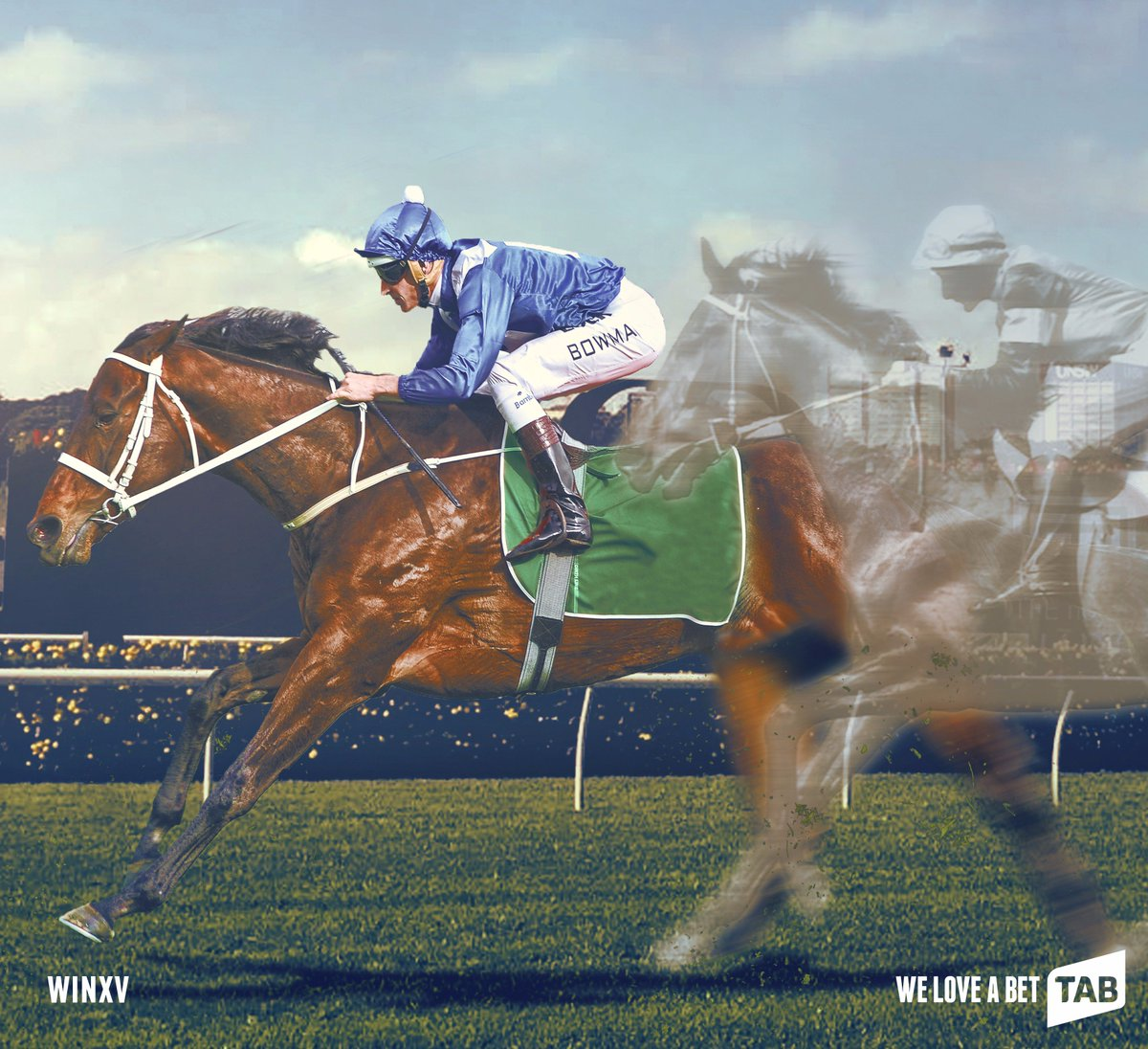 Winx wins the TAB Chipping Norton Stakes!  Surpassing the legendary Ph...