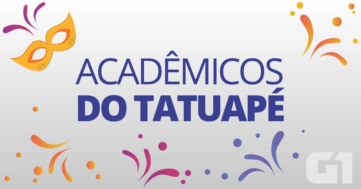AO VIVO: Acadêmicos do Tatuapé desfila no Anhembi exaltando o povo afr...