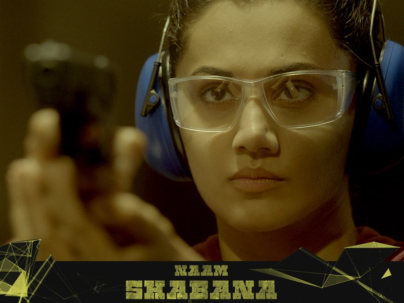 Taapsee Pannu starrer 2nd trailer of Naam Shabana maintains the buzz