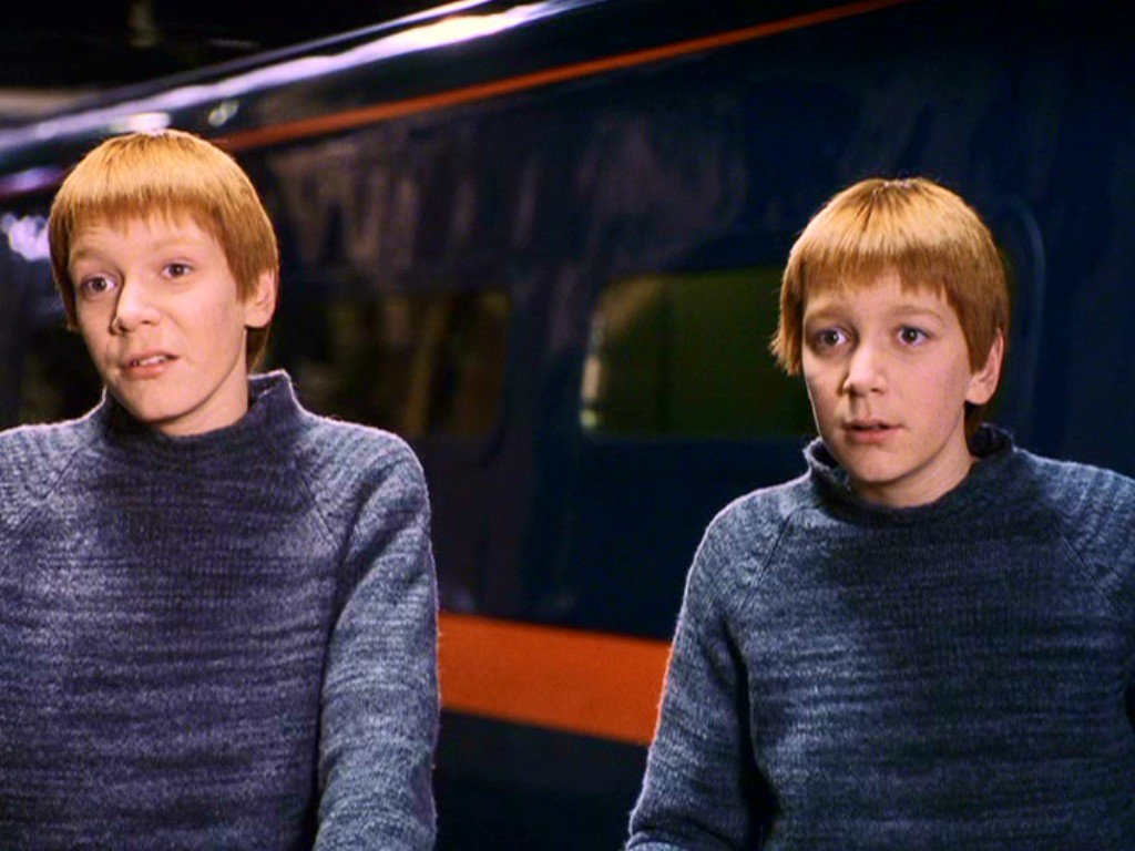 """Harry Potter Stuff ⚯͛ on Twitter: """"Happy 31st birthday to James and Oliver Phelps! They played Fred and George Weasley, whose pranks we solemnly swear will never get old!… https://t.co/gj2CtjdU0R"""""""