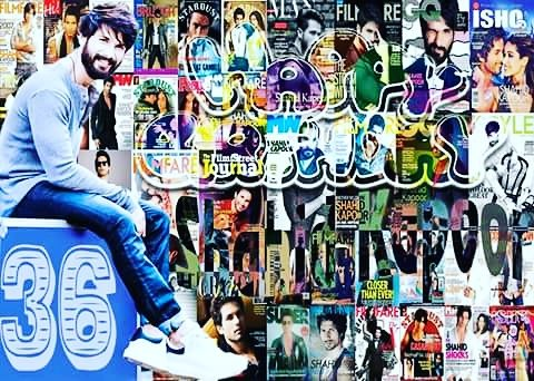 Happy bday shahid kapoor one of the best bollywood actor