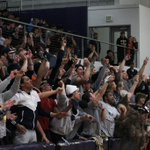 Crowd at Quinn Coliseum was fired up tonight, and for good reason.  @EOUAthletics with a big win in the @CCCSports semifinals #MountUp