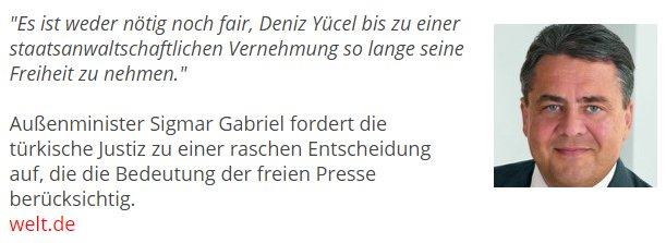 Deniz Yücel Deutschland Zitat