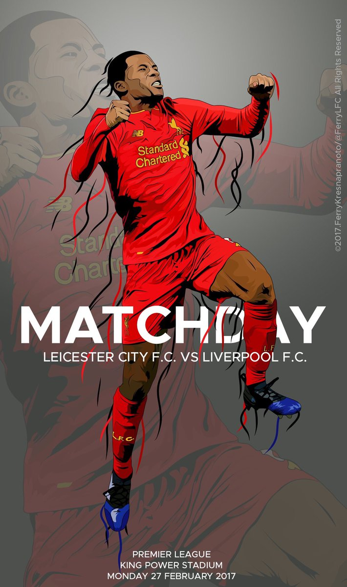 Gini on fire. 🔥  1️⃣ day until we choose the next #MyLFCMatchdayImage...