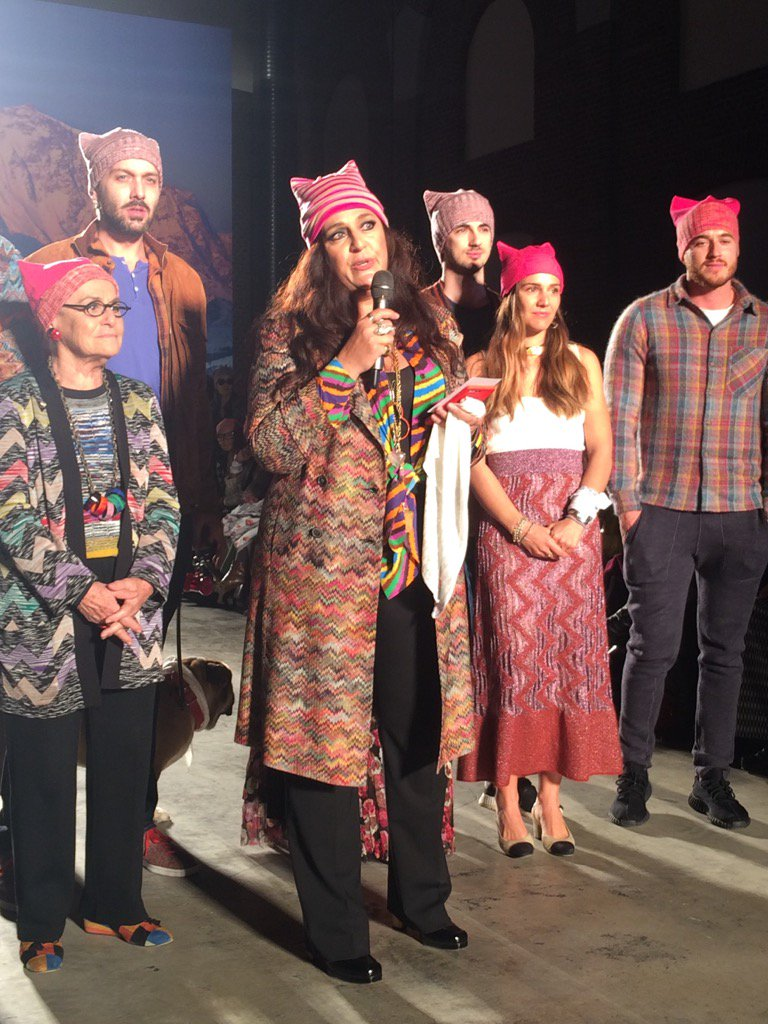 6b4c66963826 angela missoni and family urging fashion to come together post show mfw.  Share