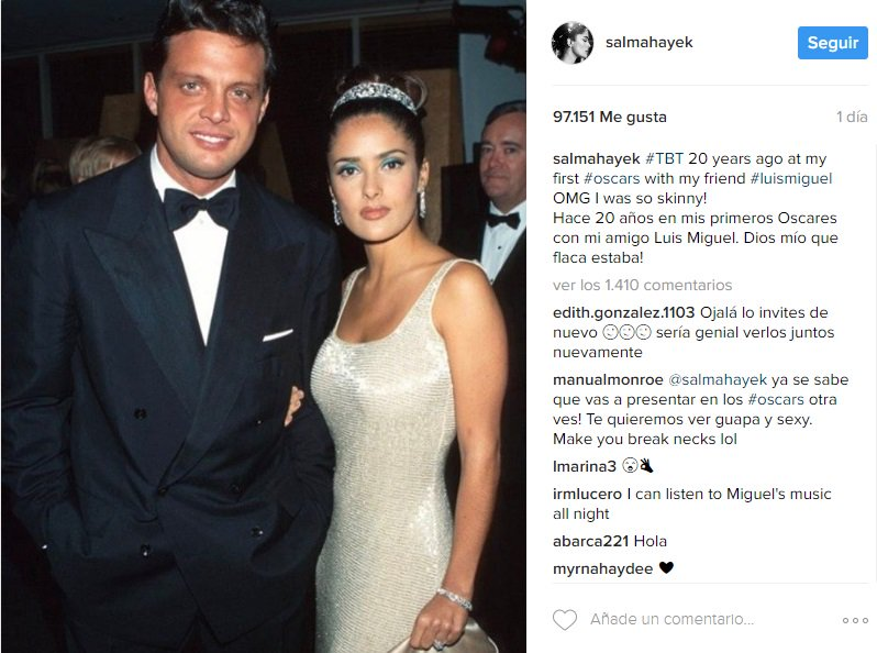 Daisy Fuentes And Luis Miguel