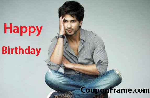 wishing Happy Birthday Shahid Kapoor